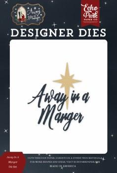 Away in a Manger Designer Dies- Away In a Manger