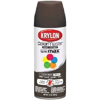 Krylon Indoor/Outdoor 12oz Spray Paint- Matte, Cocoa Bean