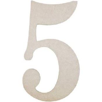"""MDF Number, 9.5""""- 5"""