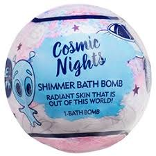 Shimmer Bath Bomb, 5oz- Cosmic Nights