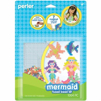 Perler Beads Kit- Mermaids