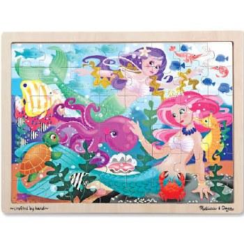 Melissa & Doug Jigsaw Puzzle- Mermaid Fantasea
