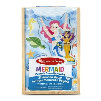 Melissa & Doug Magnetic Dress Up- Mermaid