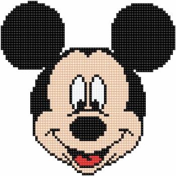 Diamond Facet Art Kit- Disney, Mickey Head
