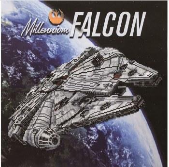 Diamond Art Kit- Millennium Falcon