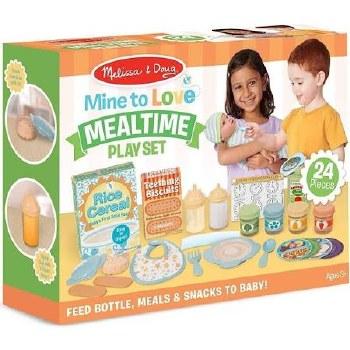 Melissa & Doug Mine to Love Play Set- Mealtime