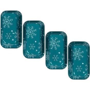 Holiday Baking- Mini Loaf Pan 4 pk, Snowflakes