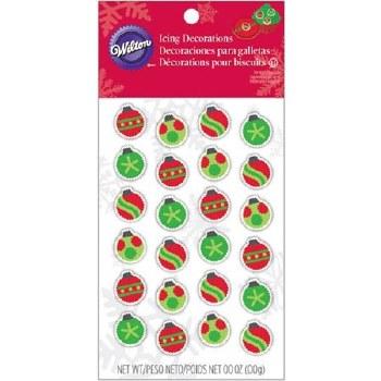 Icing Decorations- Mini Ornaments