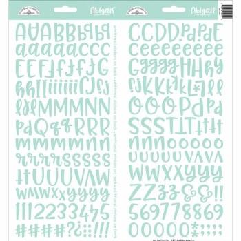 Abigail Alphabet Sticker- Mint