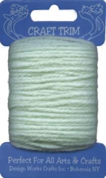 Craft Trim Yarn, 20yds- Mint