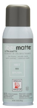 Design Master Ubermatte Spray Paint- Mist