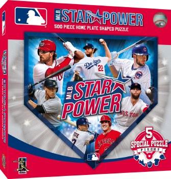 MLB Star Power - 500 Piece Puzzle
