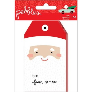 Merry Little Christmas Tag Pad, 36ct