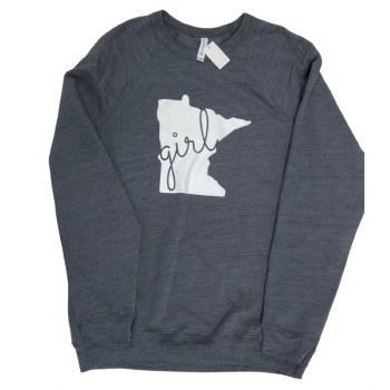 Minnesota Girl Crewneck- Small