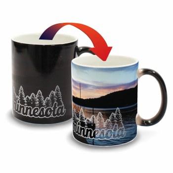 Minnesota Color Changing Mug- Dock