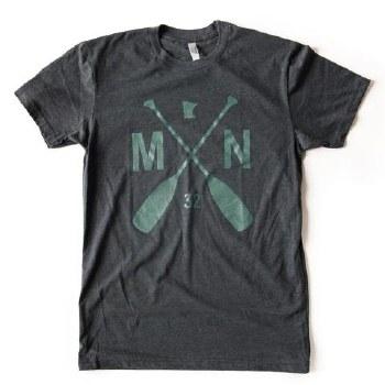 Sota Clothing T-Shirt- MN Paddle, Small