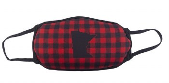 Face Mask- MN Red Plaid