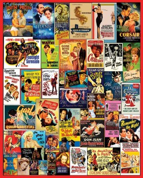 Movie Posters - 1,000 Pieces