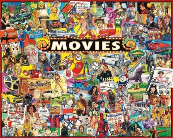 Movies - 1,000 Piece Puzzle