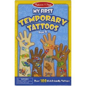 Melissa & Doug Temporary Tattoos- Blue