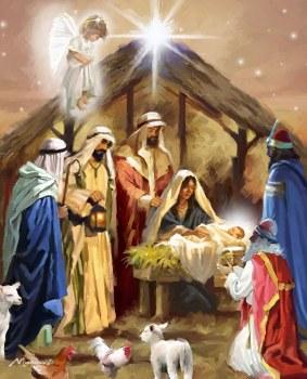 Christmas Panel - Nativity Panel