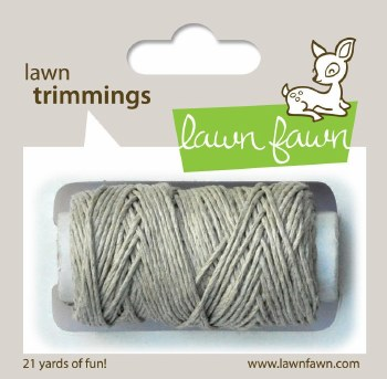 Lawn Fawn Trimmings Cord- Natural