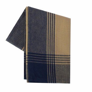 "McLeod Stripe 20""x28"" Tea Towel- Teadye & Navy"