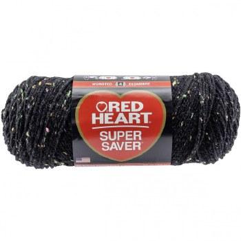 Red Heart Super Saver Yarn- Neon Fleck