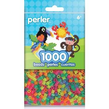 Perler Beads 1000 piece- Neon Mix