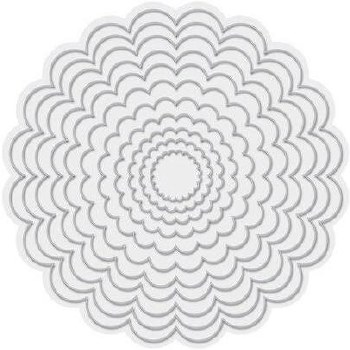 We R Memory Keepers Revolution Dies- Nested Scallop Circles