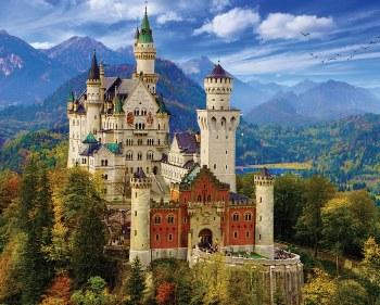 Neuschwanstein Castle - 1,000 Piece Puzzle