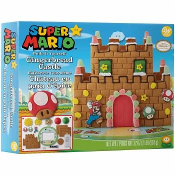 Gingerbread Kit- Super Mario Castle
