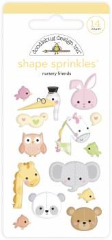 Bundle of Joy Shape Sprinkles - Nursery Friends