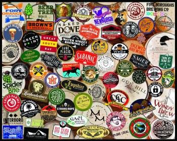 Craft Beer, New York - 1,000 Piece Puzzle