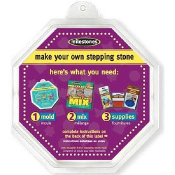 "Stepping Stone Mold- 8"" Octogon"