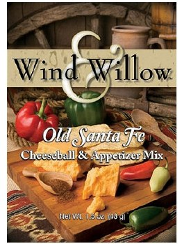 Wind & Willow Cheeseball & Appetizer Mix- Old Santa Fe
