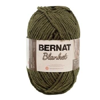 Bernat Blanket Yarn- Olive