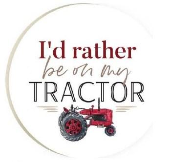 Car Coaster- Tractor