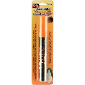 Bistro Chalk Marker, Bullet Tip- Fluorescent Orange
