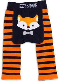 Baby Leggings, Fox Orange- 6-12m