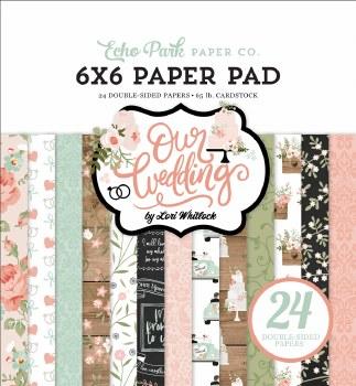 Our Wedding 6x6 Paper Pad