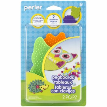 Perler Pegboards- Owl & Hedgehog