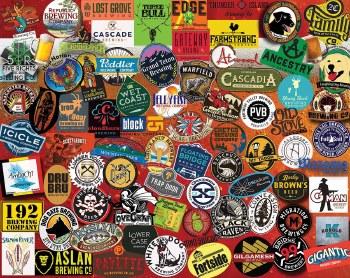 Craft Beer, Pacific Northwest - 1,000 Piece Puzzle