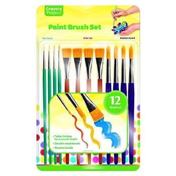 Crayola Paint Brush Set, 12ct