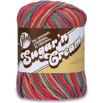 Sugar 'n Cream Yarn, Ombre- Painted Desert #190
