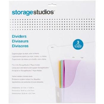 Storage Studios Paper Divders, 3pk