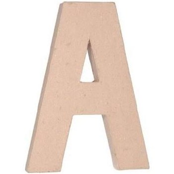 "12"" Paper Mache Letter- A"