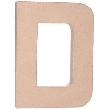"""12"""" Paper Mache Letter- D"""