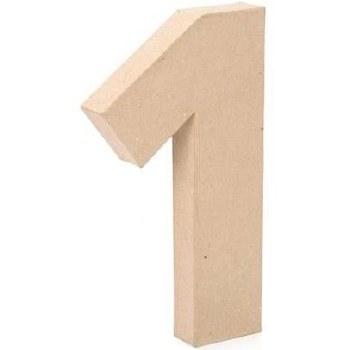 """12"""" Paper Mache Number- 1"""