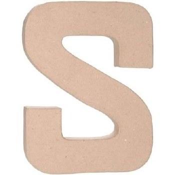 """12"""" Paper Mache Letter- S"""